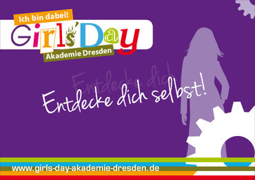 Flyer Girls'Day Akademie Dresden